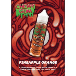 Chewy gum Pineapple Orange Gum Peppermint 60mlShortfill