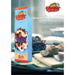 Vapefast Strawberry Blueberry Custard 60ml Shortfill