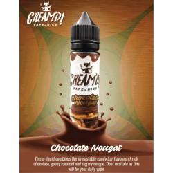 Creamd Chocolate Nougat 60ml Shortfill