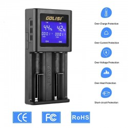Carregador S2 HD LCD Golisi