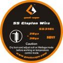 SS Clapton Wire ss316L 26GA+ 30GA