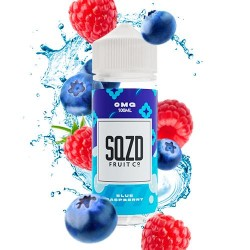 SQZD Fruit Co Blue Raspberry 100ml