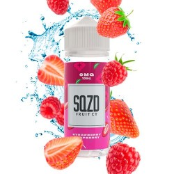 SQZD Fruit Co Strawberry Raspberry 100ml