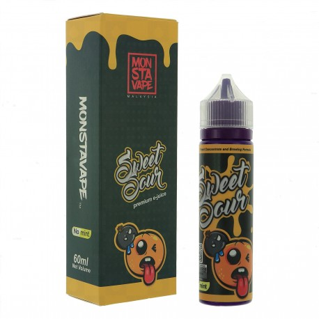 Monsta vape Sweet Sour Mint 60ml Shortfill