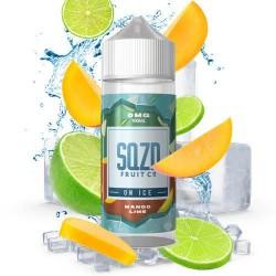 SQZD Fruit Co Mango Lime On Ice 100ml