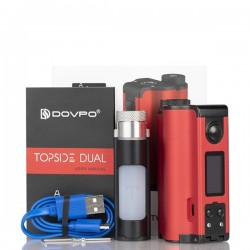 Topside Dual 10ml 200W -Dovpo  Red