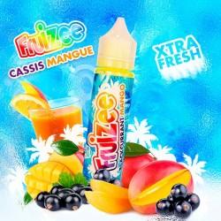Cassis Mangue 0mg 50ml - Fruizee