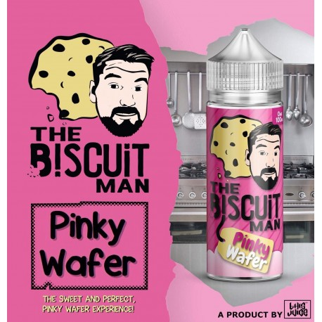 The Biscuit Man - Pink Wafer - 100ml