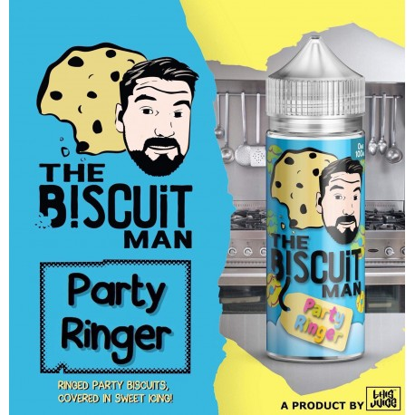 The Biscuit Man - Party Ringer - 100ml